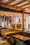 Industrial restaurant interior Royalty Free Stock Image