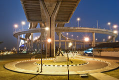 The industrial ring road. The scene of Thailand about industrial ring road Royalty Free Stock Photography