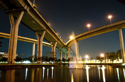 The industrial ring road Stock Photos
