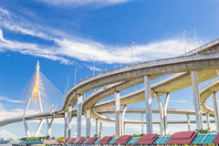 Industrial ring road Royalty Free Stock Photos