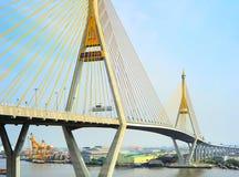 Industrial Ring Road Bridge Stock Images