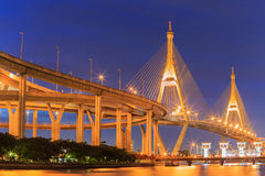 Industrial Ring Road Bridge Royalty Free Stock Image