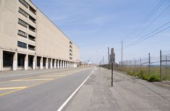 Industrial Road. In New Jersey Royalty Free Stock Photography
