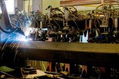 Industrial robot Stock Photos