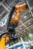 Industrial robot arm Stock Photo