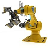 Industrial Robot Arm Royalty Free Stock Photos