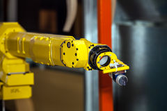 Industrial robot Royalty Free Stock Photos