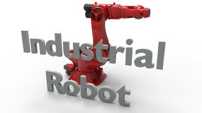 Industrial robot  Stock Image