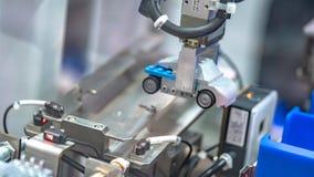 Industrial Robot Hand Mechanism Technology stock photo