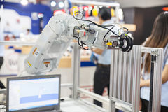 Industrial robot hands Stock Image