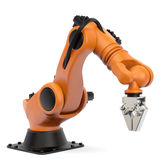 Industrial robot. Very high resolution 3d rendering of an industrial robot Royalty Free Stock Photo