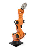 Industrial robot Royalty Free Stock Photo