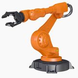 Industrial robot Stock Photography