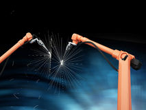 Industrial Robotic Arms Stock Images