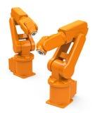 Industrial robots Stock Photos