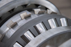 Industrial roller bearing Stock Image