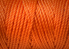 Industrial rope. stock image