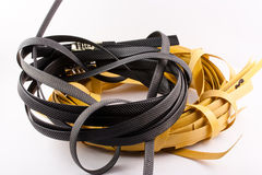 Industrial Rubber Band Stock Photo