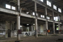 Industrial ruin Royalty Free Stock Photos