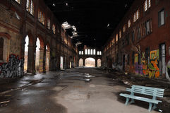 Industrial ruin Royalty Free Stock Photos
