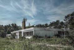 Industrial ruin Stock Image