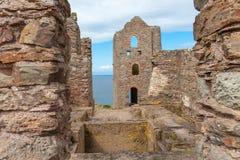 Industrial ruins Cornwall. Royalty Free Stock Photos