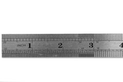 Industrial ruler Royalty Free Stock Images