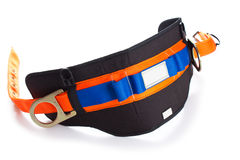 Industrial safety belt isolated on white Stock Photography