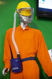 Industrial safety suit Stock Photos