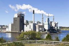 Industrial Saint John Stock Image