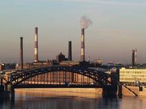 Industrial Saint Petersburg Stock Photography