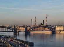 Industrial Saint Petersburg Stock Photos