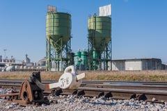 Industrial scene Royalty Free Stock Photo
