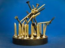 Industrial sculpture Stock Image