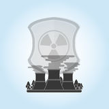 Industrial security design. safety icon. protection concept Stock Photo