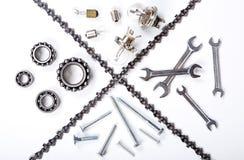 Industrial set Stock Image