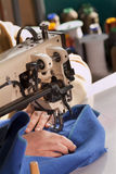 Industrial Sewing Machine Royalty Free Stock Image