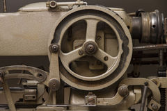 Industrial sewing machine Royalty Free Stock Photography