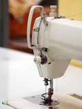 Industrial sewing machine Royalty Free Stock Images