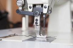 Industrial sewing machine Stock Image