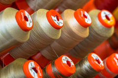 Industrial Sewing thread Stock Images