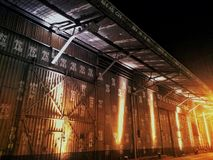 Industrial shed factory stock photos