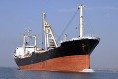 Industrial ship. Stock Photography