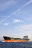 Industrial ship at Bosphorus strait Stock Image