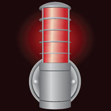 Industrial signal light Stock Photos