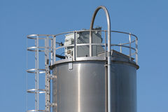 Industrial Silo Royalty Free Stock Images
