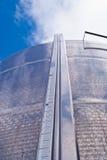 Industrial silos.detail. Industrial silos. outdoor. selective focus Stock Photography