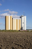 Industrial silos Royalty Free Stock Photo