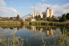 Industrial Site Stock Image