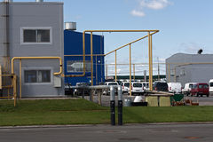 Industrial site stock photos